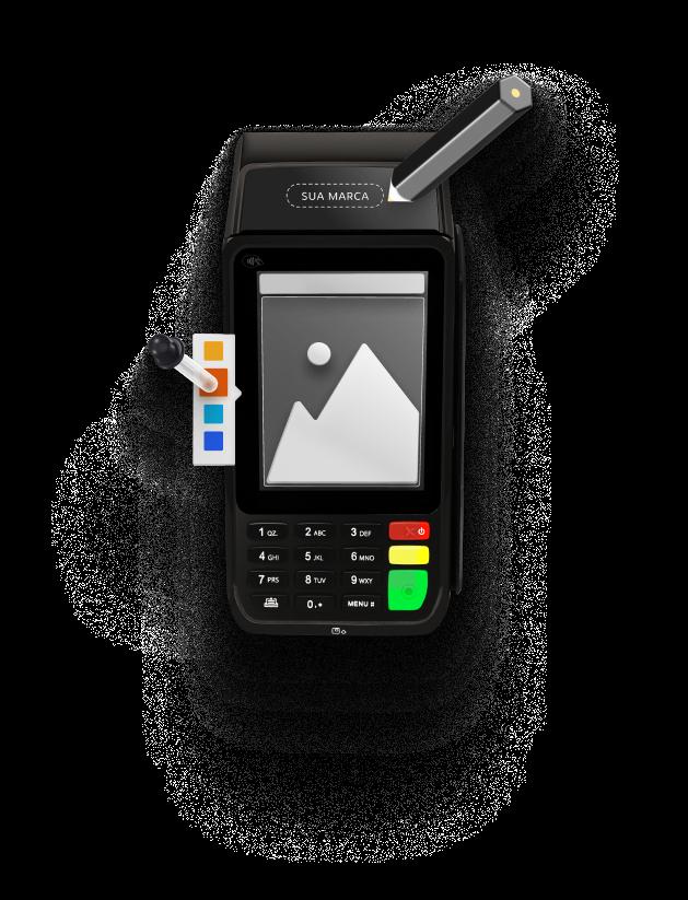 Máquina de Cartão Personalizada PayGo