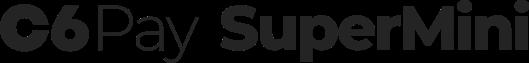Logo Máquina de Cartão C6 Supermini PayGo