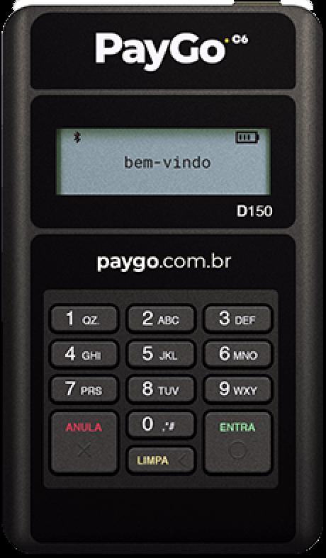 Maquininha de Cartão da PayGo