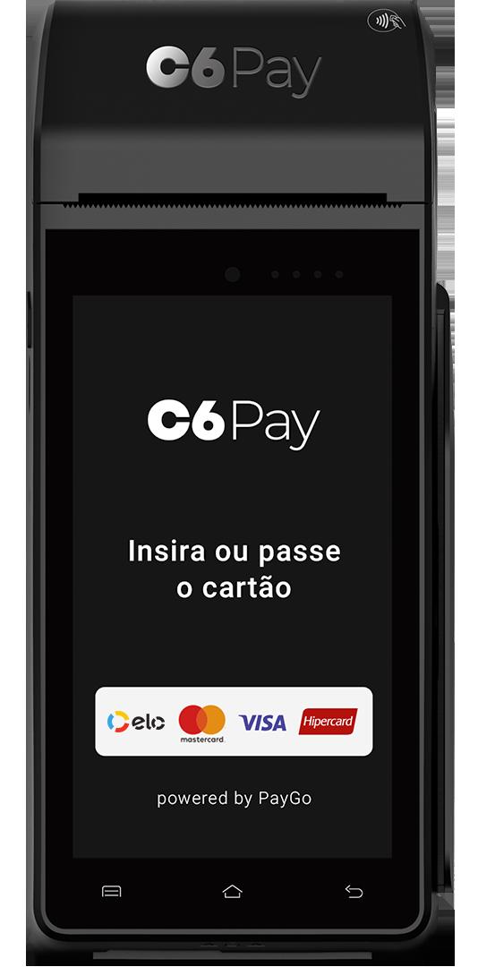 Máquina de Cartão C6 Smart PayGo