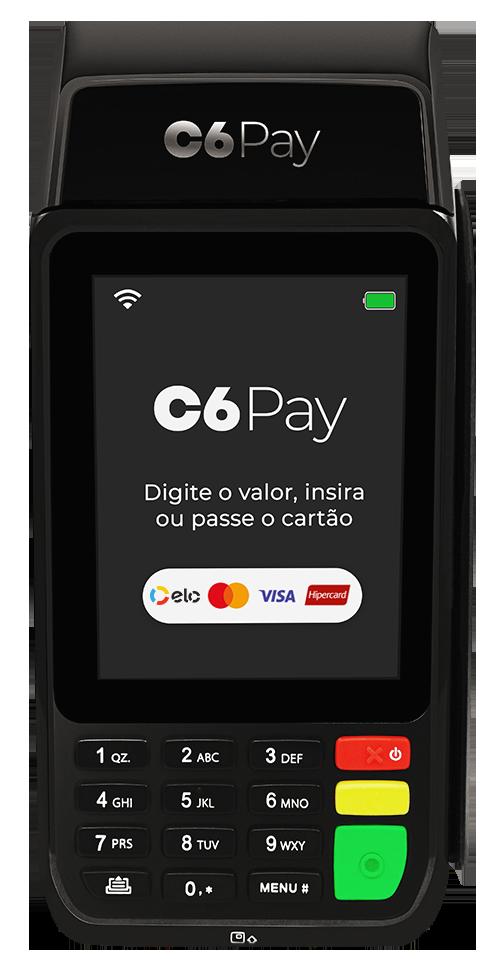 Máquina de Cartão C6 Essencial PayGo