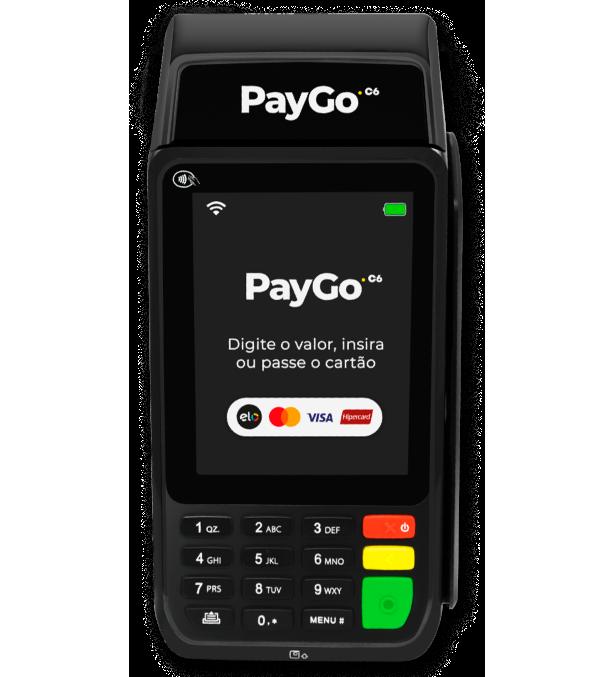 Máquina de Cartão Pos TEF PayGo